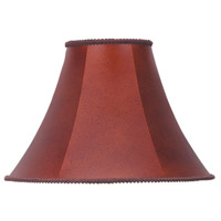 Cal Lighting SH-7151 Bell Leatherette 16 inch Shade