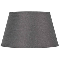 Cal Lighting SH-8112-12E Signature Grey 12 inch Shade, Round