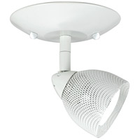 Serpentine Orbit 1 Light 5 inch White Semi-Flushmount Ceiling Light