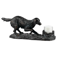 Golden Retriever 6 X 5 inch Candle Holder