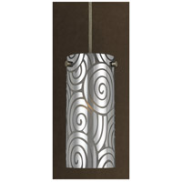 Cal Lighting UP-1019/6-BS Signature 1 Light 4 inch Brushed Steel Pendant Set Ceiling Light