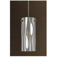Cal Lighting UP-1020/6-BS Signature 1 Light 4 inch Brushed Steel Pendant Set Ceiling Light