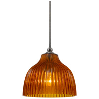 Cal Lighting UP-1070/6-BS Signature 1 Light 7 inch Brushed Steel Pendant Set Ceiling Light