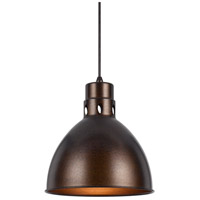 Webster 1 Light 10 inch Rust Pendant Set Ceiling Light, Line Voltage