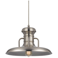 Winter 1 Light 16 inch Brushed Steel Pendant Set Ceiling Light, Line Voltage