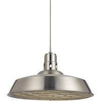 Cal Lighting UP-1112-6-BS Danberry 1 Light 20 inch Brushed Steel Pendant Ceiling Light