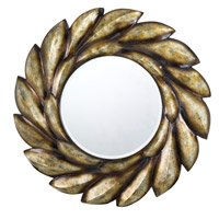 Cal Lighting WA-2154MIR Sartene 32 X 32 inch Argent Wall Mirror, Oval