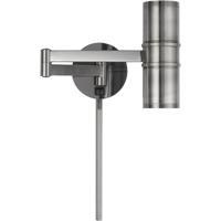 Cal Lighting WL-2925-GM Swing Arm LED 6 inch Gun Metal Wall Lamp Wall Light