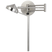 Cal Lighting WL-2926-BS Zug LED 5 inch Brushed Steel Wall Lamp Wall Light