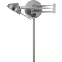 Cal Lighting WL-2926-GM Zug LED 5 inch Gun Metal Wall Lamp Wall Light
