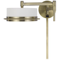 Cal Lighting WL-2929-AB Sarnen LED 5 inch Antique Brass Wall Lamp Wall Light