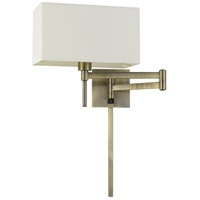 Cal Lighting WL-2930-AB Robson 1 Light 6 inch Antique Brass Wall Lamp Wall Light