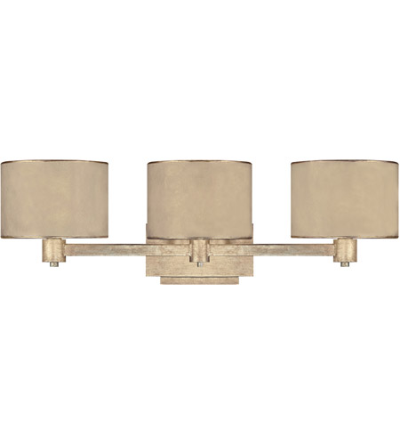 Winter Gold Vanity Lights : Capital Lighting Luna 3 Light Vanity in Winter Gold 1008WG-410