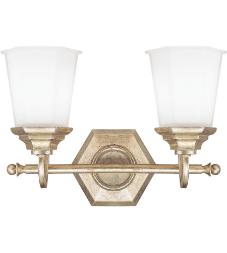 Capital Lighting 1067wg 101 Fifth Avenue 1 Light 14 Inch Winter Gold Vanity Wall