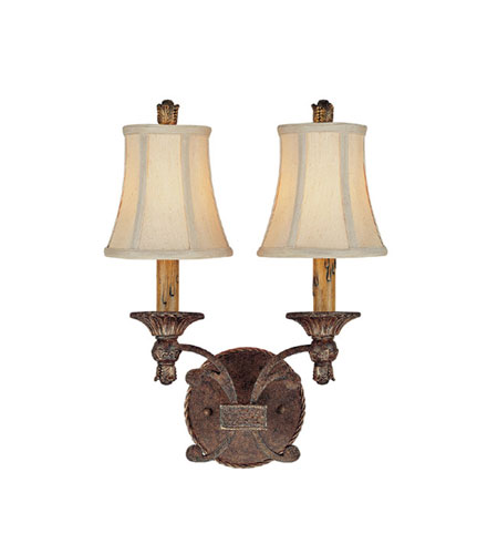 Capital Lighting Squire 2 Light Sconce in Crusted Umber 1112CU-443 photo