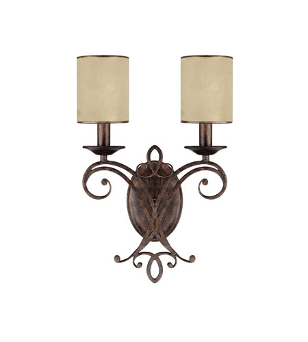 Capital Lighting 1116RT-510 Reserve 3 Light 12 inch Rustic Sconce Wall Light photo