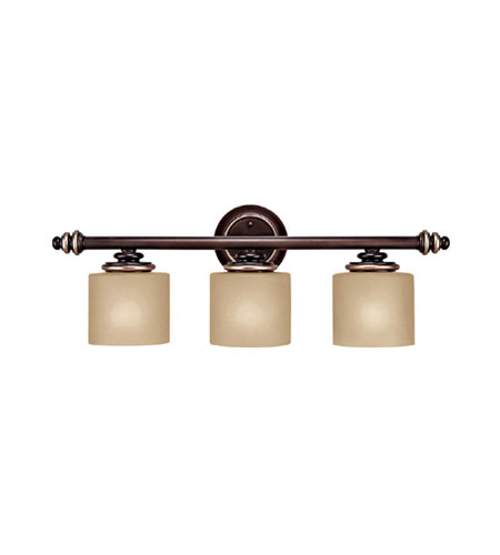 Capital Lighting Park Place 3 Light Vanity in Champagne Bronze 1133CZ-296