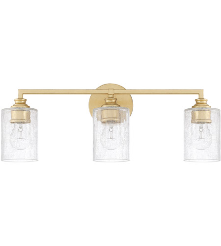 Capital Lighting 120531CG-422 Milan 3 Light 23 inch Capital Gold Vanity Wall Light  photo