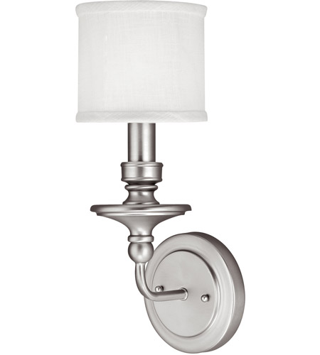 Capital Lighting Midtown 1 Light Sconce in Matte Nickel 1231MN-451 photo