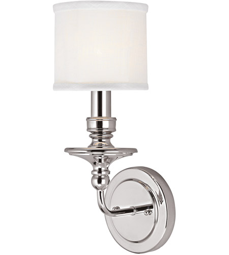 Capital Lighting 1231PN-451 Midtown 1 Light 6 inch Polished Nickel Sconce Wall Light photo