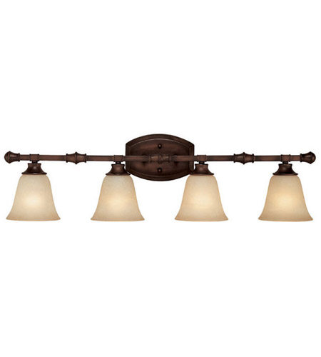 Capital Lighting 1334BB-287 Belmont 4 Light 34 inch Burnished Bronze Vanity Wall Light photo
