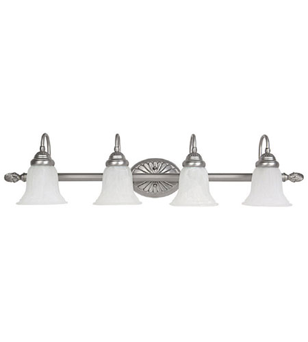 Capital Lighting Signature 4 Light Vanity in Matte Nickel 1539MN-278 photo