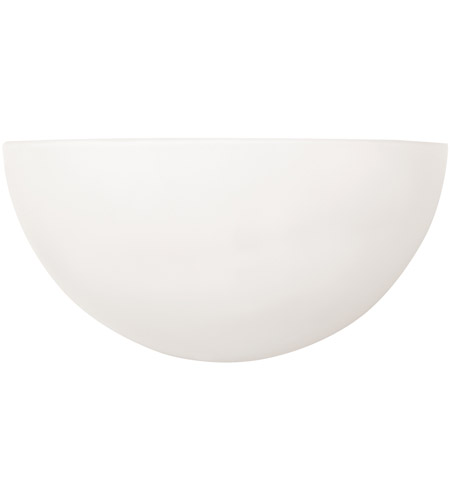 Capital Lighting 1680MW Signature 1 Light 10 inch Matte White Sconce Wall Light photo