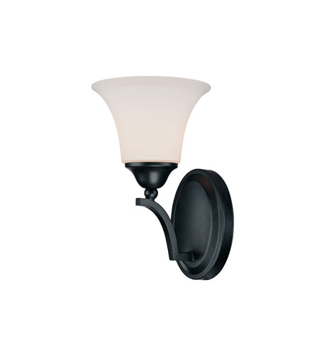 Capital Lighting Towne & Country 4 Light Sconce in Basic Black with Soft White Glass 1756BC-114 photo