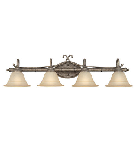 Capital Lighting Signature 4 Light Vanity in Creek Stone 1894CS-234 photo