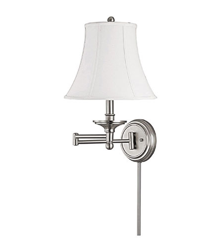 Capital Lighting Signature 1 Light Sconce in Matte Nickel 1912MN-503 photo
