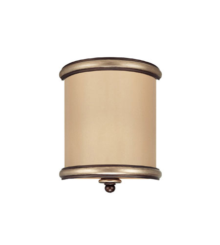 Capital Lighting Park Place 2 Light Sconce in Champagne Bronze with ChampaGne Glass 1941CZ photo