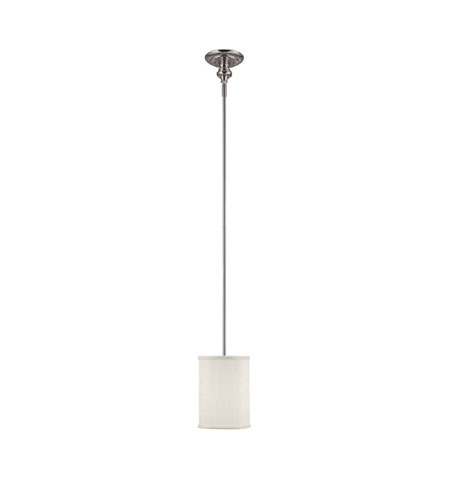 Capital Lighting 1971PN-461 Midtown 2 Light 7 inch Polished Nickel Pendant Ceiling Light photo