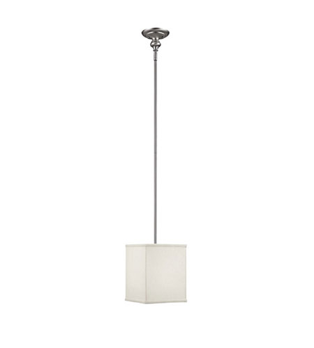 Capital Lighting Midtown 2 Light Pendant in Matte Nickel with Frosted Diffuser Glass 1976MN-463 photo