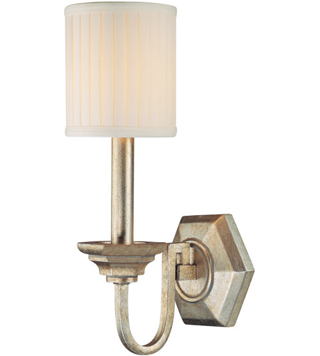 Capital Lighting 1986WG-484 Fifth Avenue 1 Light 6 inch Winter Gold Sconce Wall Light photo