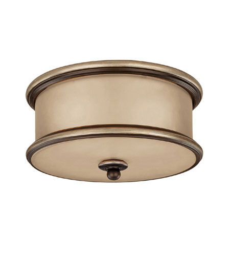 Capital Lighting Park Place 2 Light Flush Mount in Champagne Bronze with ChampaGne Glass 2023CZ photo