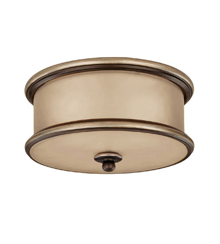 Capital Lighting Park Place 3 Light Flush Mount in Champagne Bronze with ChampaGne Glass 2025CZ photo