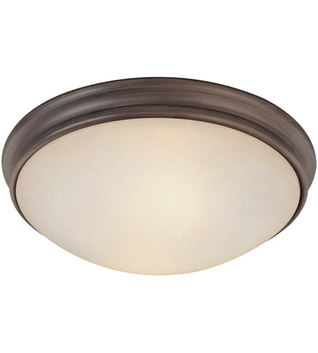 Capital Lighting 2042OR Signature 2 Light 12 inch Oil Rubbed Bronze Flush Mount Ceiling Light photo