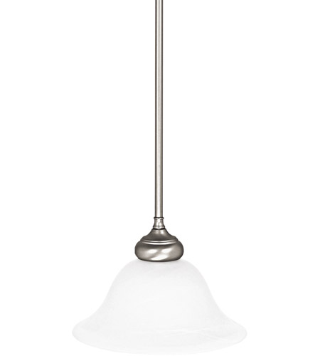 Capital Lighting 3150MN-224 Signature 1 Light 10 inch Matte Nickel Pendant Ceiling Light photo