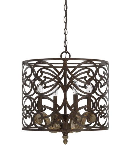 Capital Lighting 321541rn Renaissance 4 Light 18 Inch Pendant Ceiling