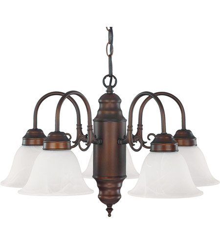 Capital Lighting 3255BB-118 Signature 5 Light 23 inch Burnished Bronze Chandelier Ceiling Light photo thumbnail