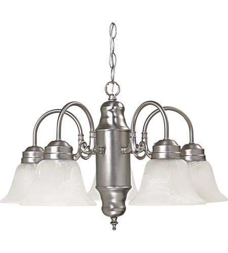 Capital Lighting 3255MN-118 Signature 5 Light 23 inch Matte Nickel Chandelier Ceiling Light photo
