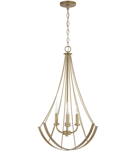 Capital Lighting Aged Brass Signature Pendants