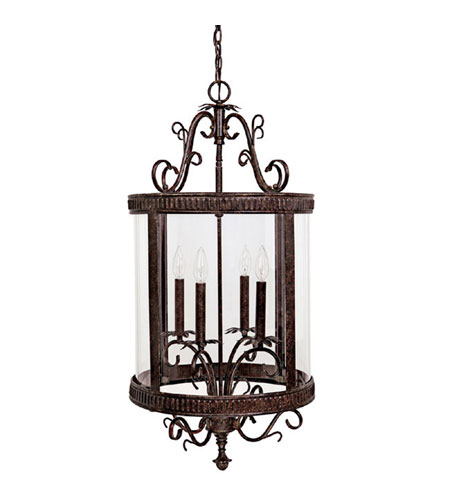 Capital Lighting Signature 4 Light Foyer in Tortoise 3324TS photo