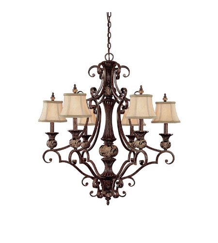 Capital Lighting Manchester 3 Light Chandelier in Chesterfield Brown 3526CB-440 photo