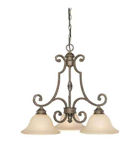 Capital Lighting 3583CS-259 Barclay 3 Light 26 inch Creek Stone Island Light Ceiling Light photo