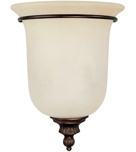 Capital Lighting Avery 2 Light Sconce in Burnished Bronze with Mist Scavo Glass 3787BB photo