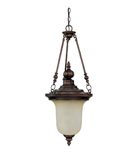 Capital Lighting Avery 3 Light Chandelier in Burnished Bronze with Mist Scavo Glass 3788BB photo