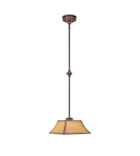 Capital Lighting 3861IU-467 Foxborough 1 Light 13 inch Iron and Umber Pendant Ceiling Light photo