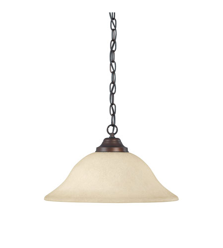 Capital Lighting 3907BB-MS Signature 1 Light 15 inch Burnished Bronze Pendant Ceiling Light in Mist Scavo photo