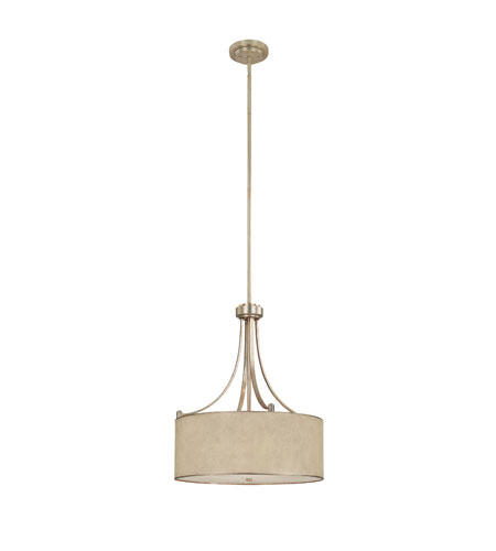 Capital Lighting 3931WG-481 Luna 4 Light 22 inch Winter Gold Pendant Ceiling Light photo